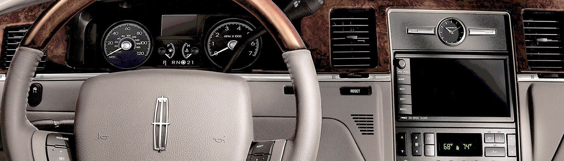 Lincoln town car dash kits custom lincoln town car dash kit lincoln town car custom dash kits sciox Image collections