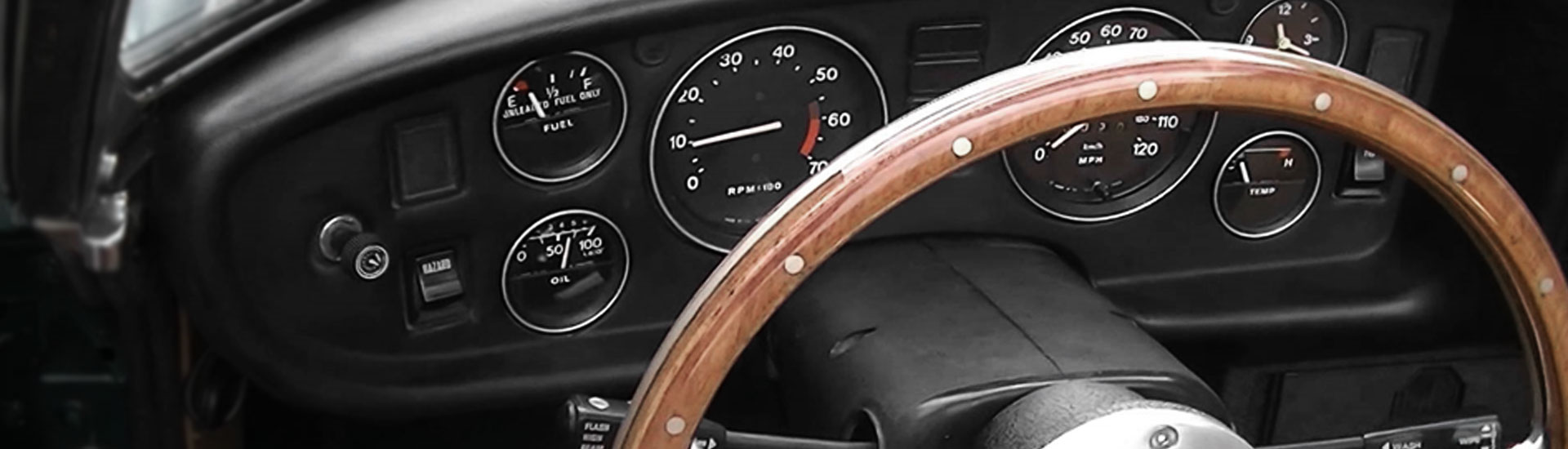MG MGB Dash Kits | Custom MG MGB Dash Kit