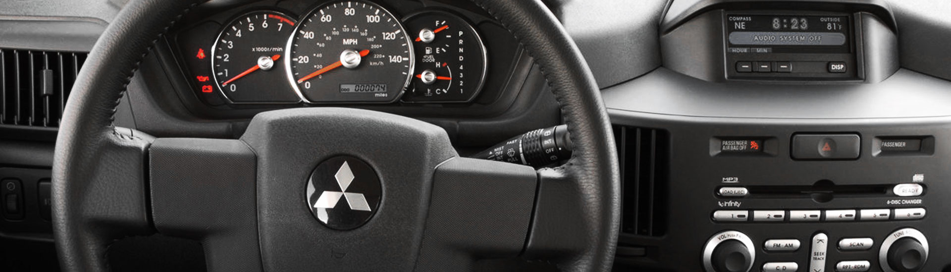 Mitsubishi Endeavor Custom Dash Kits