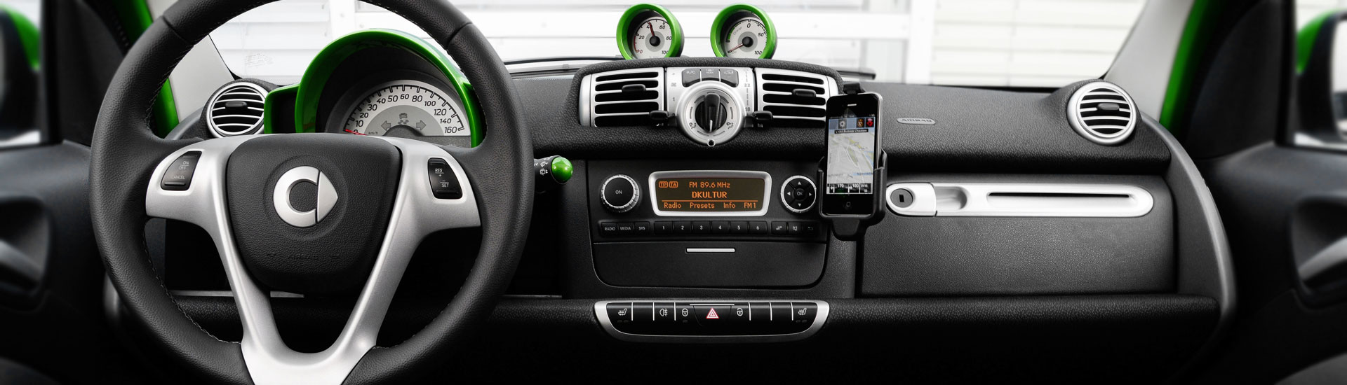 smart Fortwo Custom Dash Kits