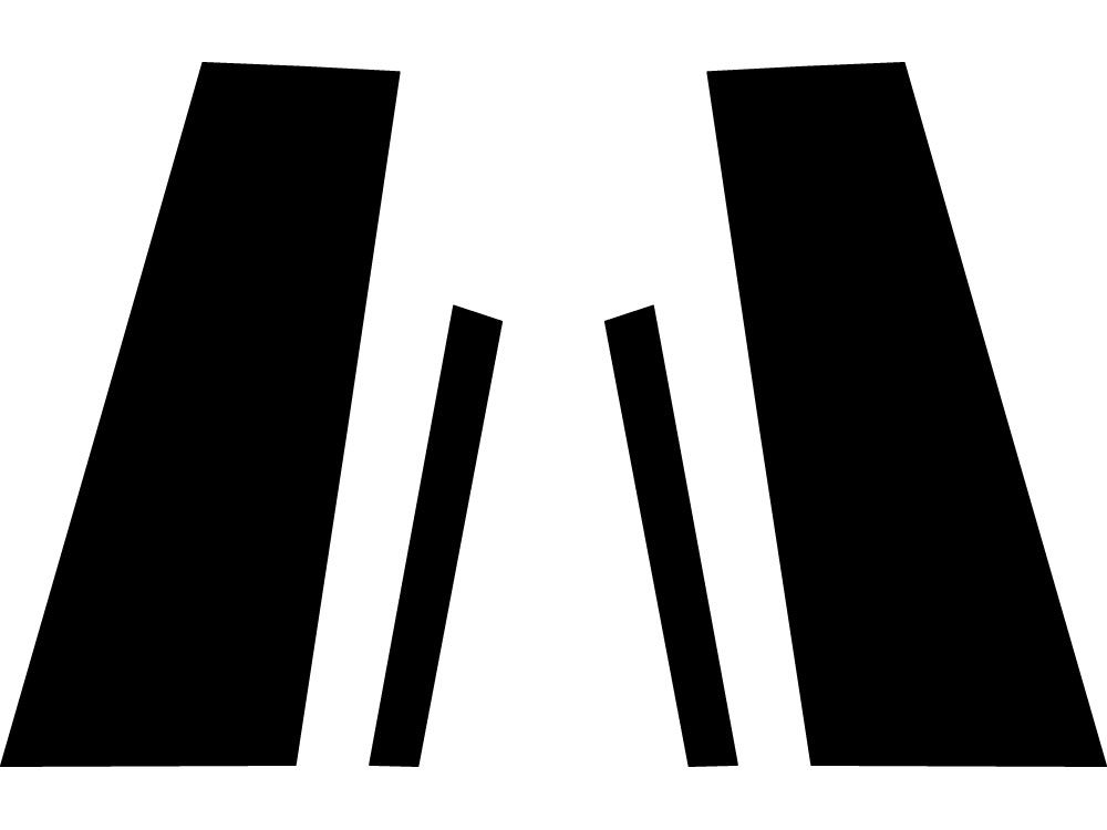 PIANO BLACK B PILLARS FOR VOLKSWAGEN CC 2009-2016  4PCS