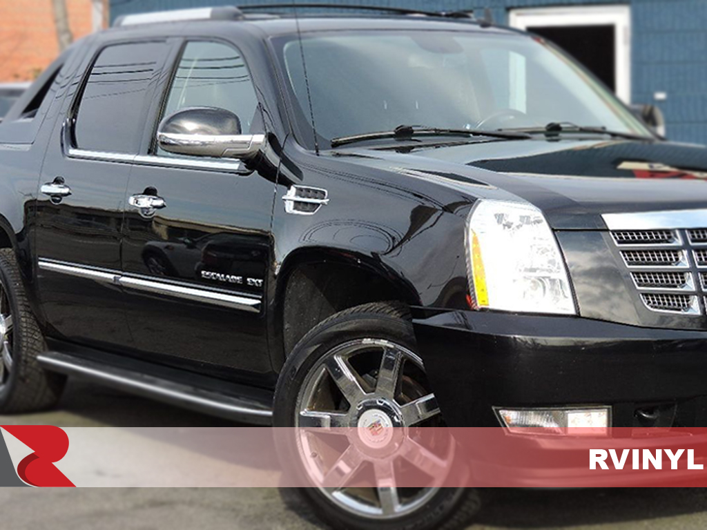 Cadillac Escalade 2007-2013 Piano Black Pillar Trim Kits