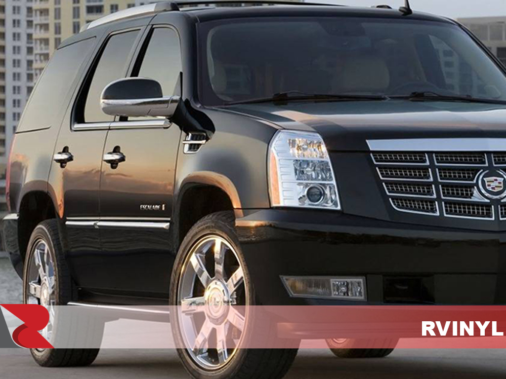 Cadillac Escalade 2007-2013 Matte Black Pillar Post Covers