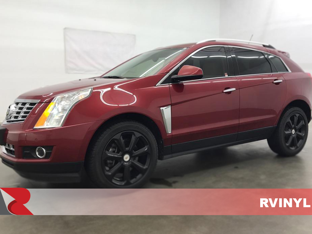 Cadillac SRX 2010-2016 Gloss Black Pillar Trim Covers