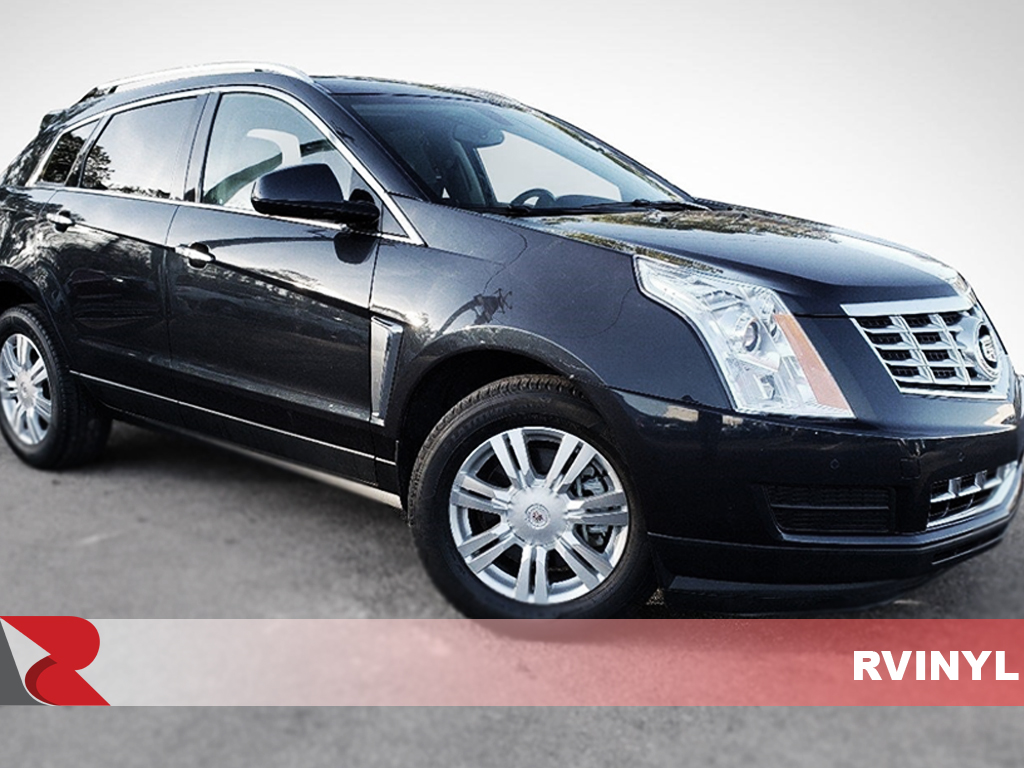 Cadillac SRX 2010-2016 Carbon Fiber Pillar Trims