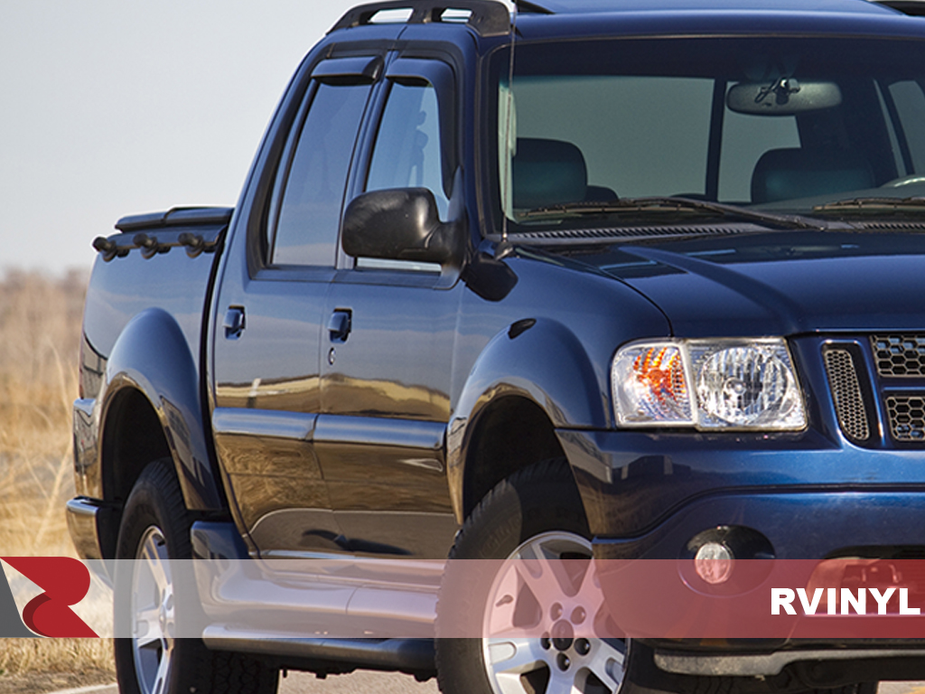 Ford Explorer Sport Trac 2001-2005 Matte Black Pillar Post Covers