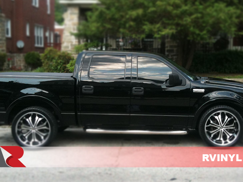 Ford F-150 SuperCrew 2004-2014 Carbon Fiber Pillar Trims