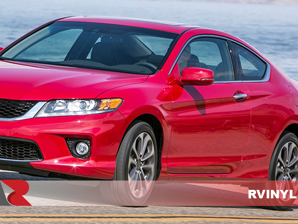 Honda Accord Coupe 2008-2012 Carbon Fiber Pillar Trims