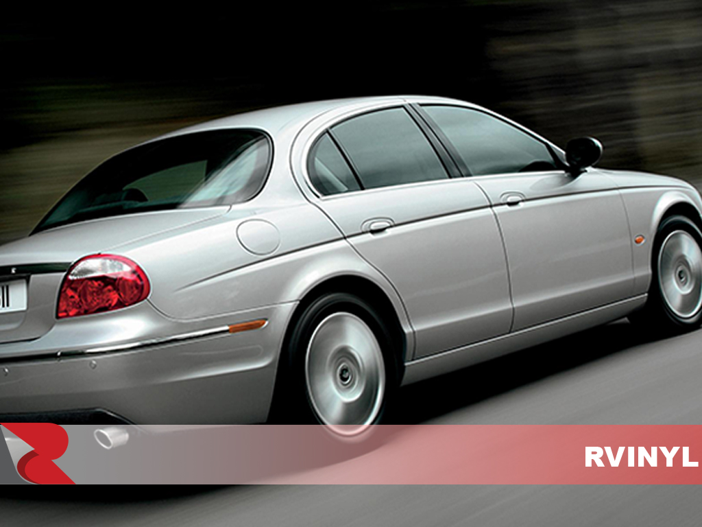 Jaguar S-Type 2000-2008 Gloss Black Pillar Trim Covers