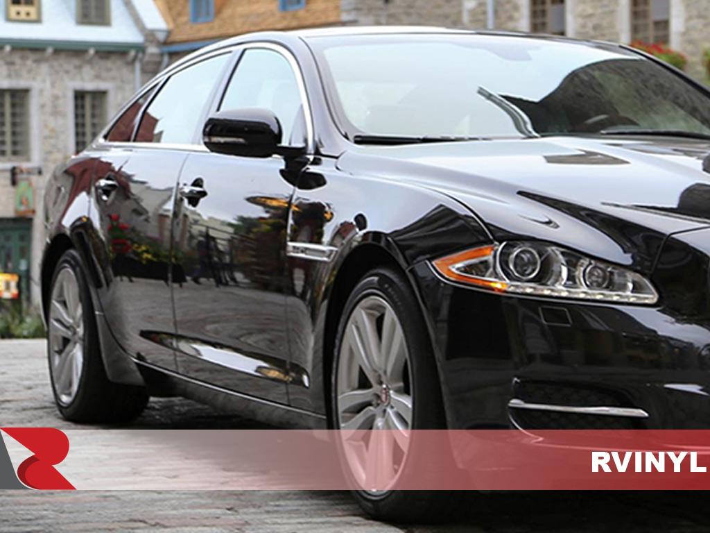 Upgrade Your Auto 6Pc Chrome Pillar Post Covers for 03-09 Jaguar Xj-8