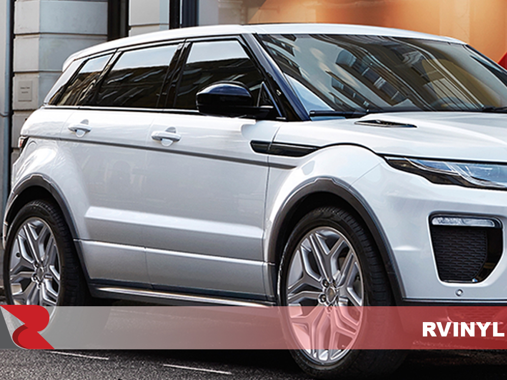 Land Rover Range Rover 4 Door Evoque 2012-2017 Gloss Black Pillar Trim Covers