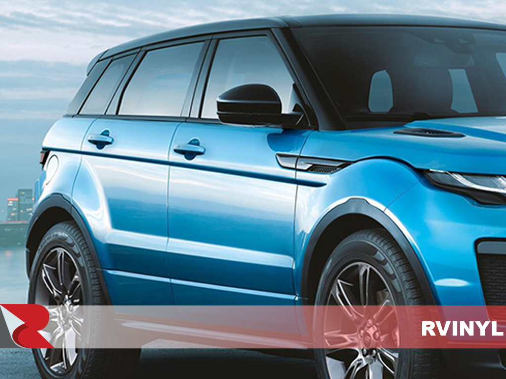 Land Rover Range Rover 4 Door Evoque 2012-2017 Matte Black Pillar Post Covers