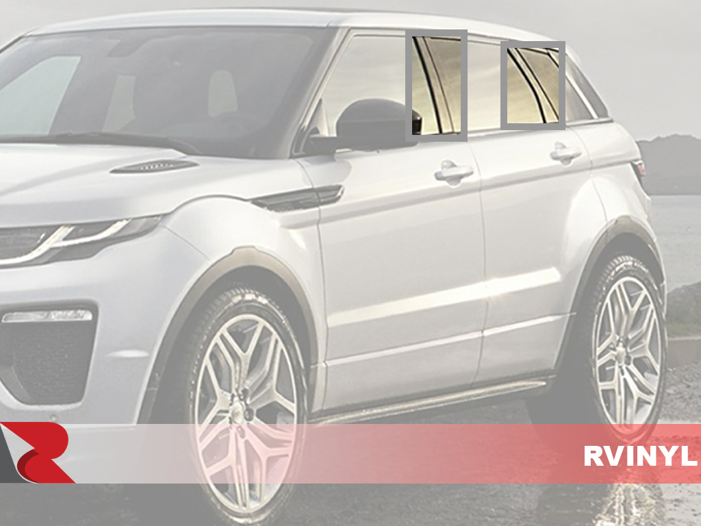 Land Rover Range Rover 4 Door Evoque 2012-2017 How To Install Pillar Post Trim