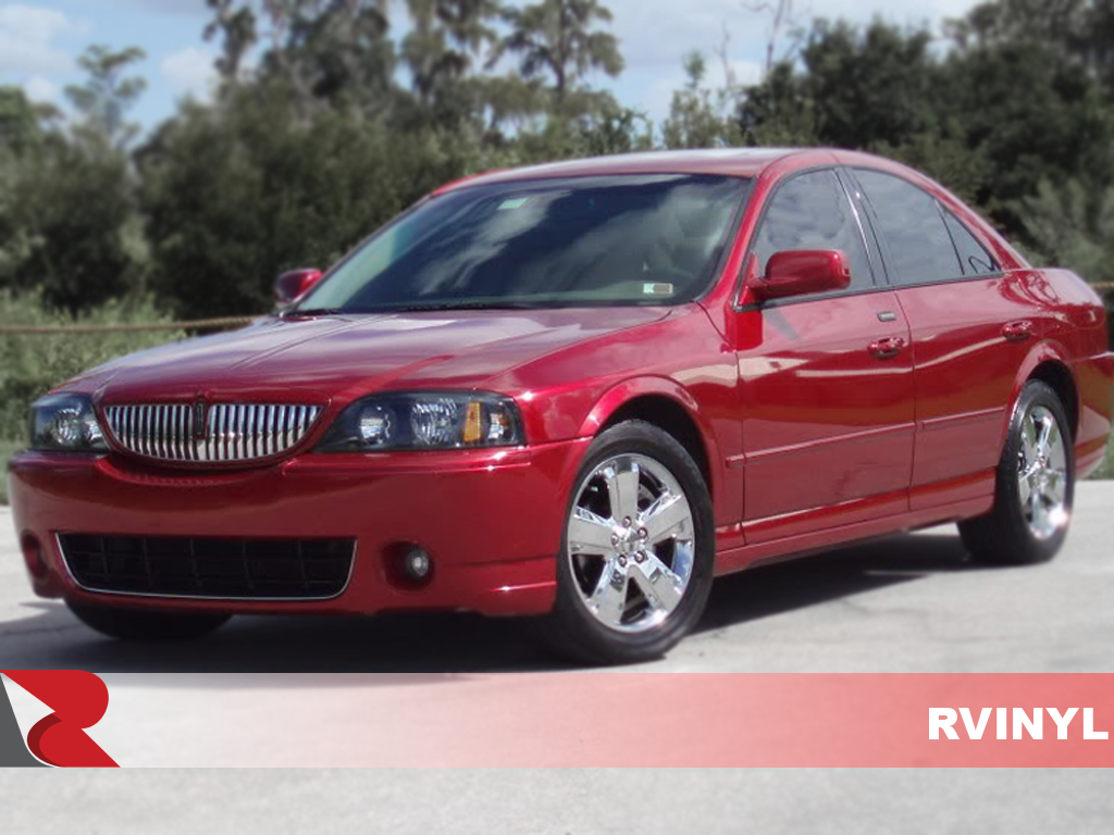 Lincoln LS 2000-2006 Gloss Black Pillar Trim Covers