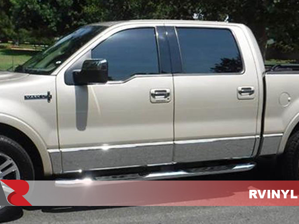 Lincoln Mark LT 2006-2008 Piano Black Pillar Trim Kits