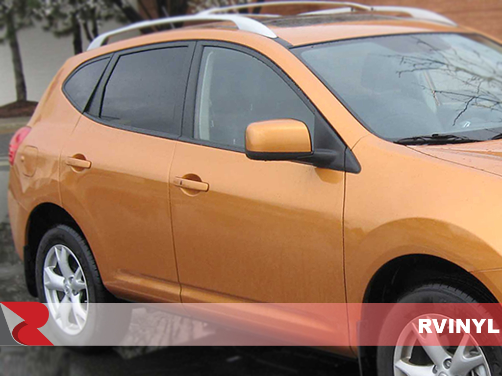 Nissan Rogue 2008-2013 Gloss Black Pillar Trim Covers
