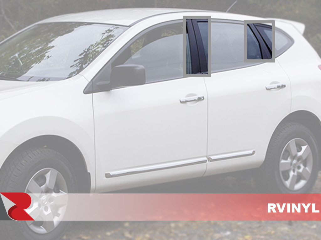 Nissan Rogue 2008-2013 How To Install Pillar Post Trim