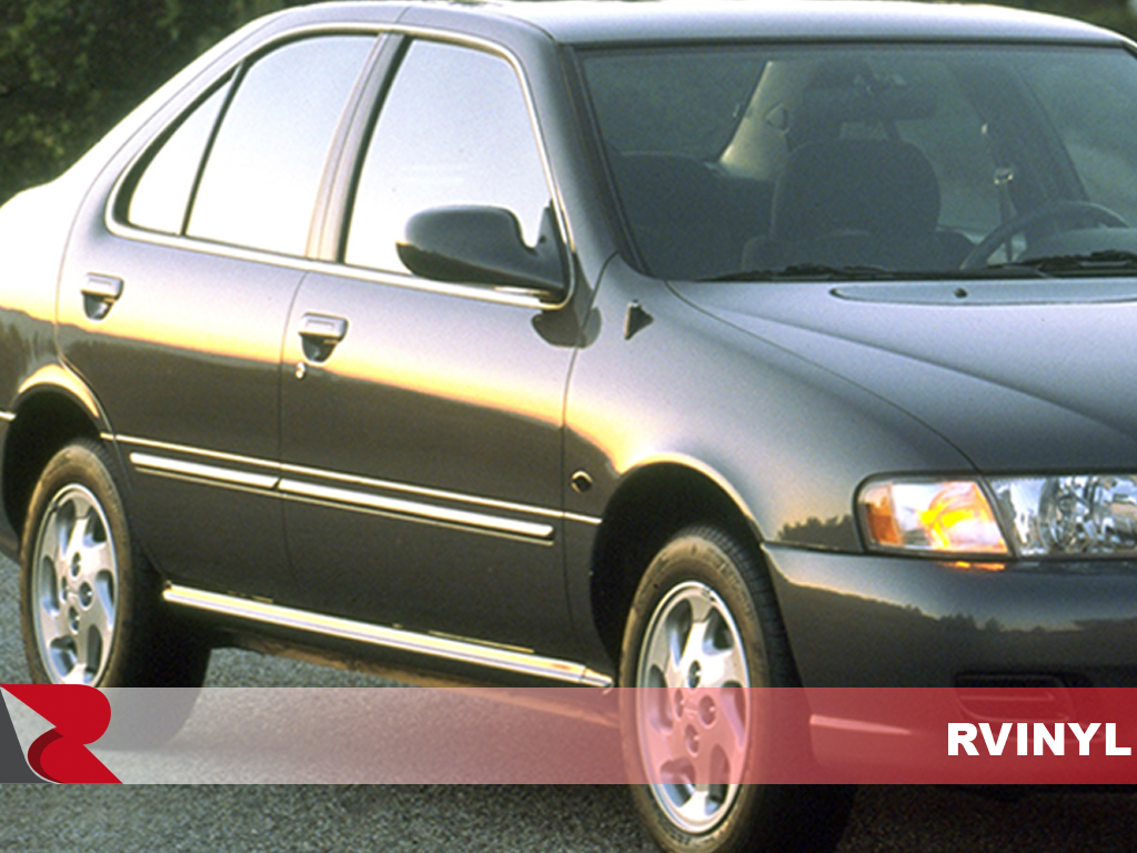 Nissan Sentra 1995-1999 Carbon Fiber Pillar Trims