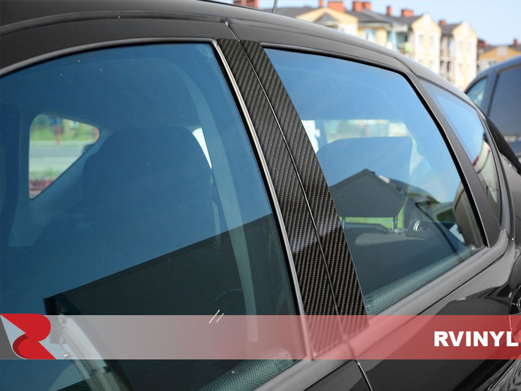 2012 Land Rover Range Rover Evoque High Gloss Carbon Pillar Posts