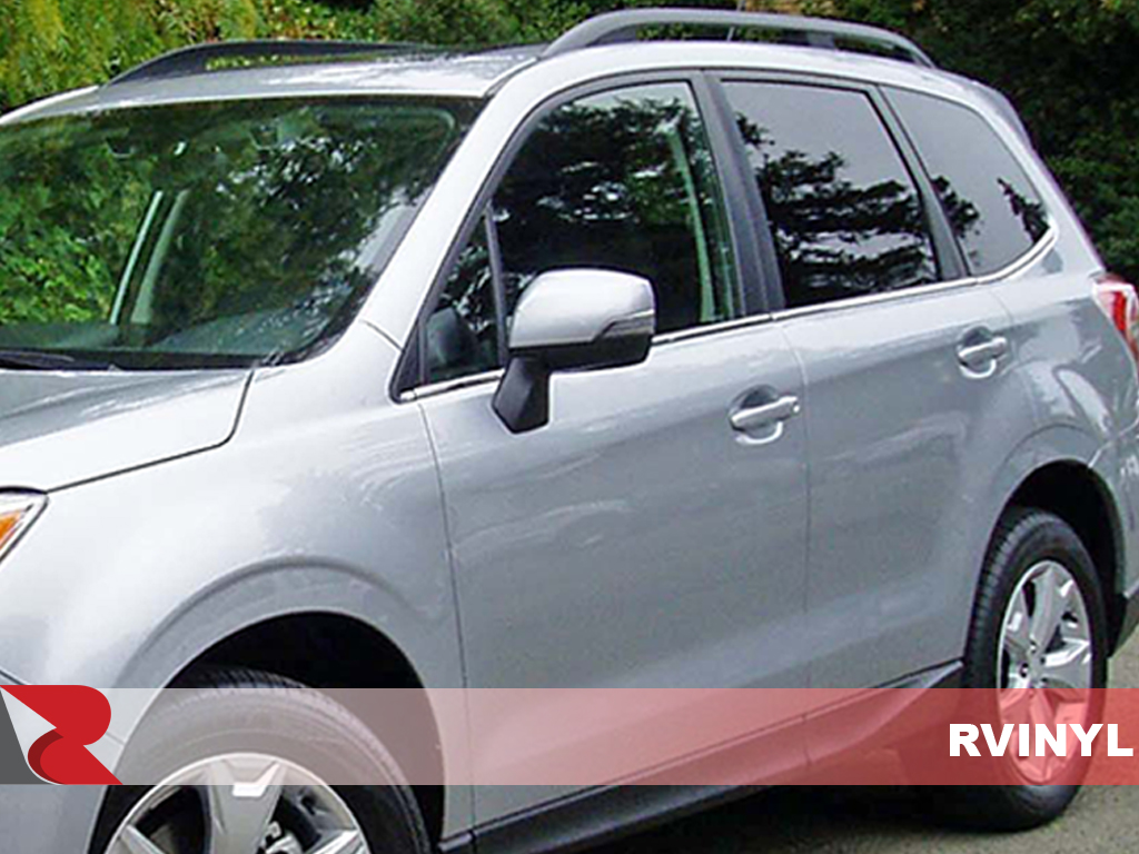 Subaru Forester 2009-2012 Gloss Black Pillar Trim Covers