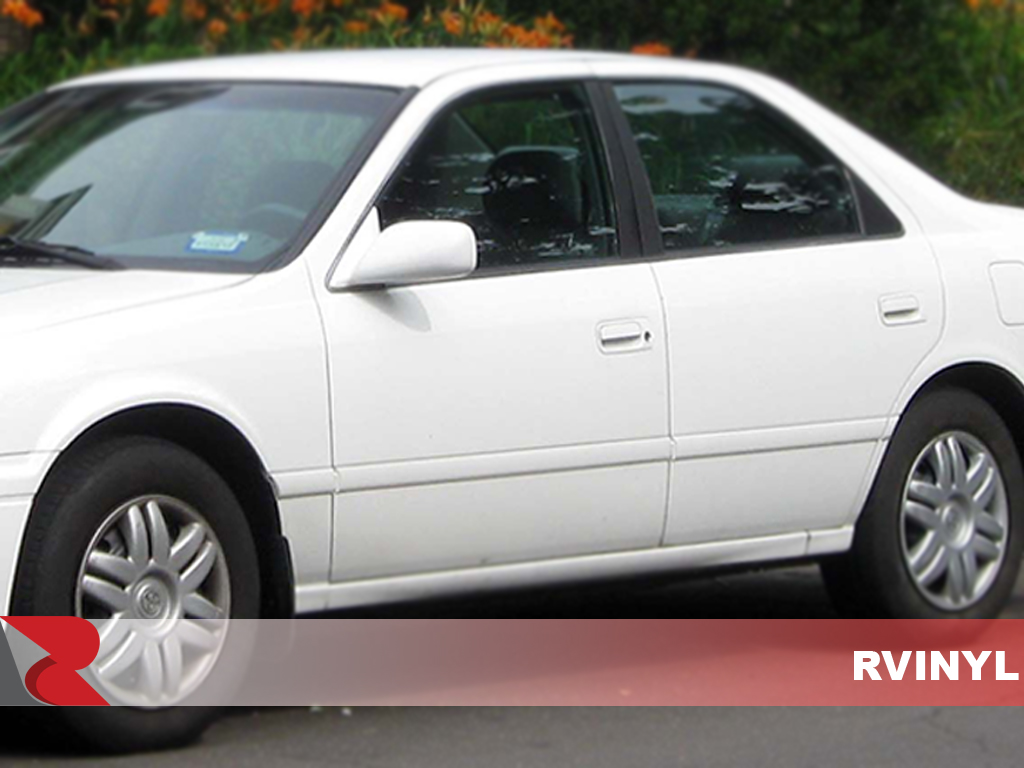 Toyota Camry 1997-2001 Gloss Black Pillar Trim Covers