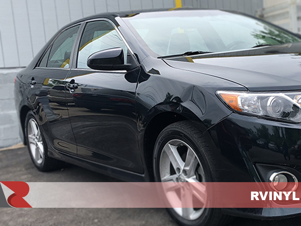 Toyota Camry 2012-2014 Gloss Black Pillar Trim Covers