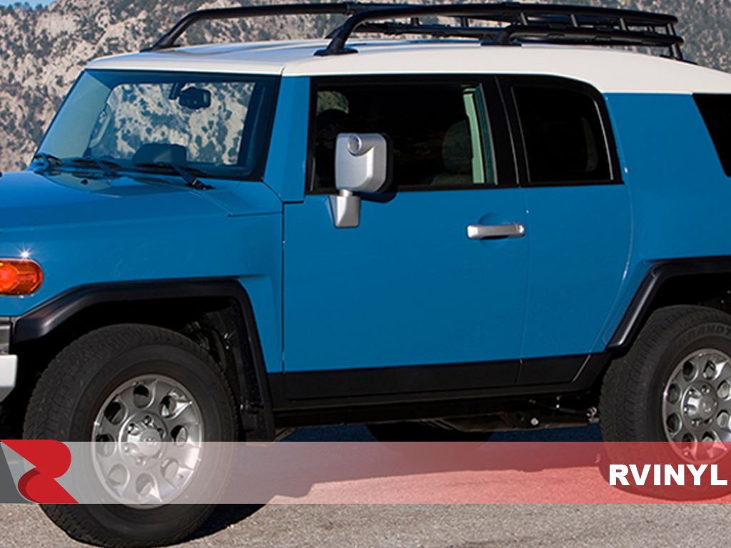 Toyota FJ Cruiser 2007-2014 Gloss Black Pillar Trim Covers