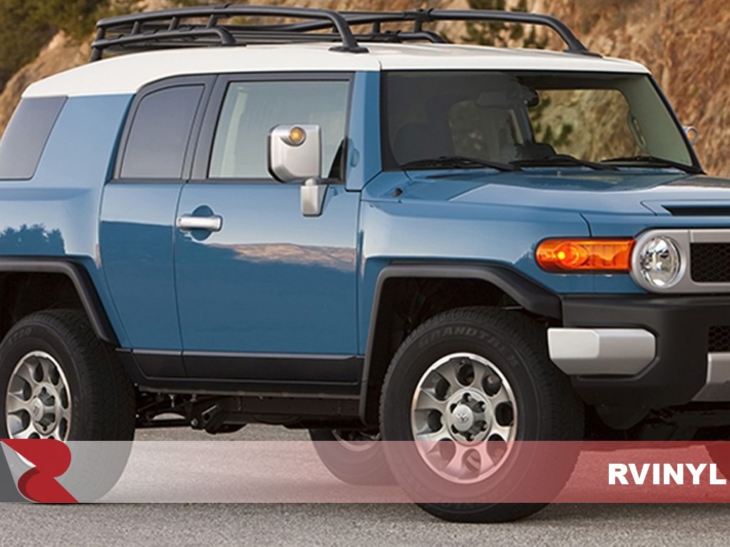 Toyota FJ Cruiser 2007-2014 Piano Black Pillar Trim Kits