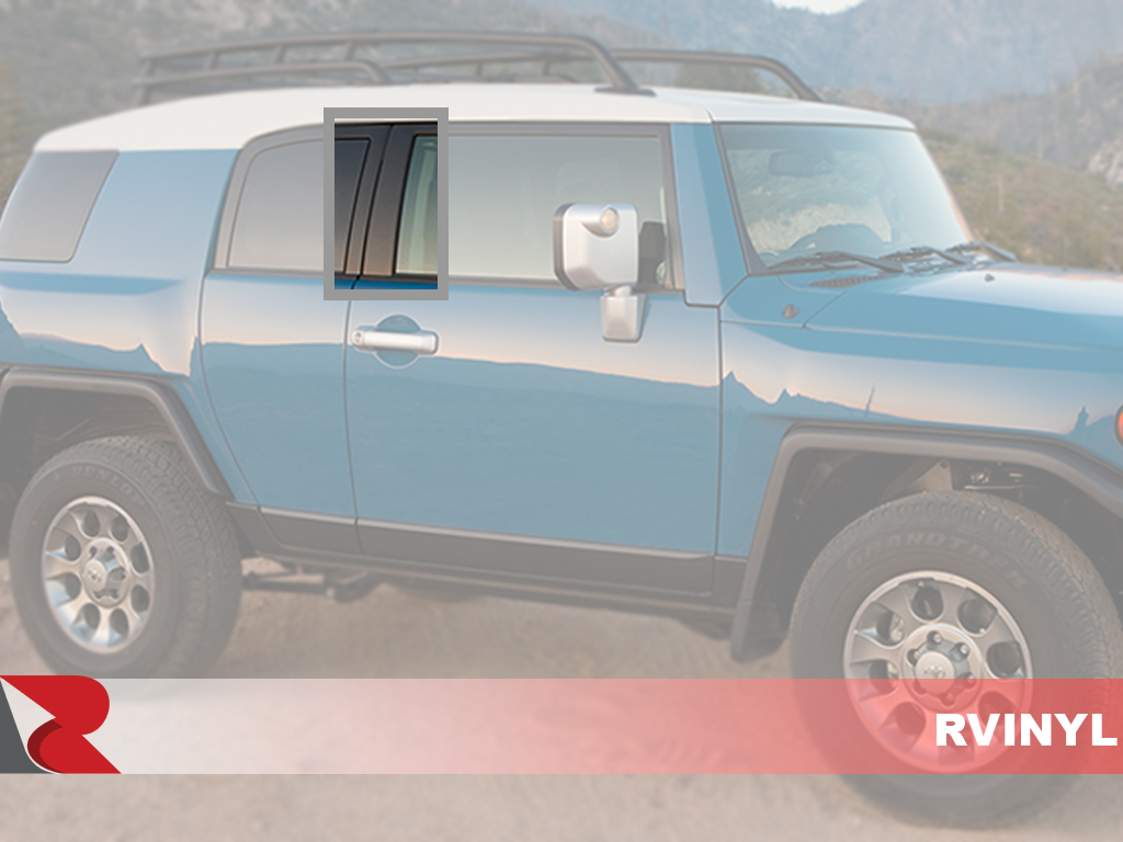 Toyota FJ Cruiser 2007-2014 How To Install Pillar Post Trim