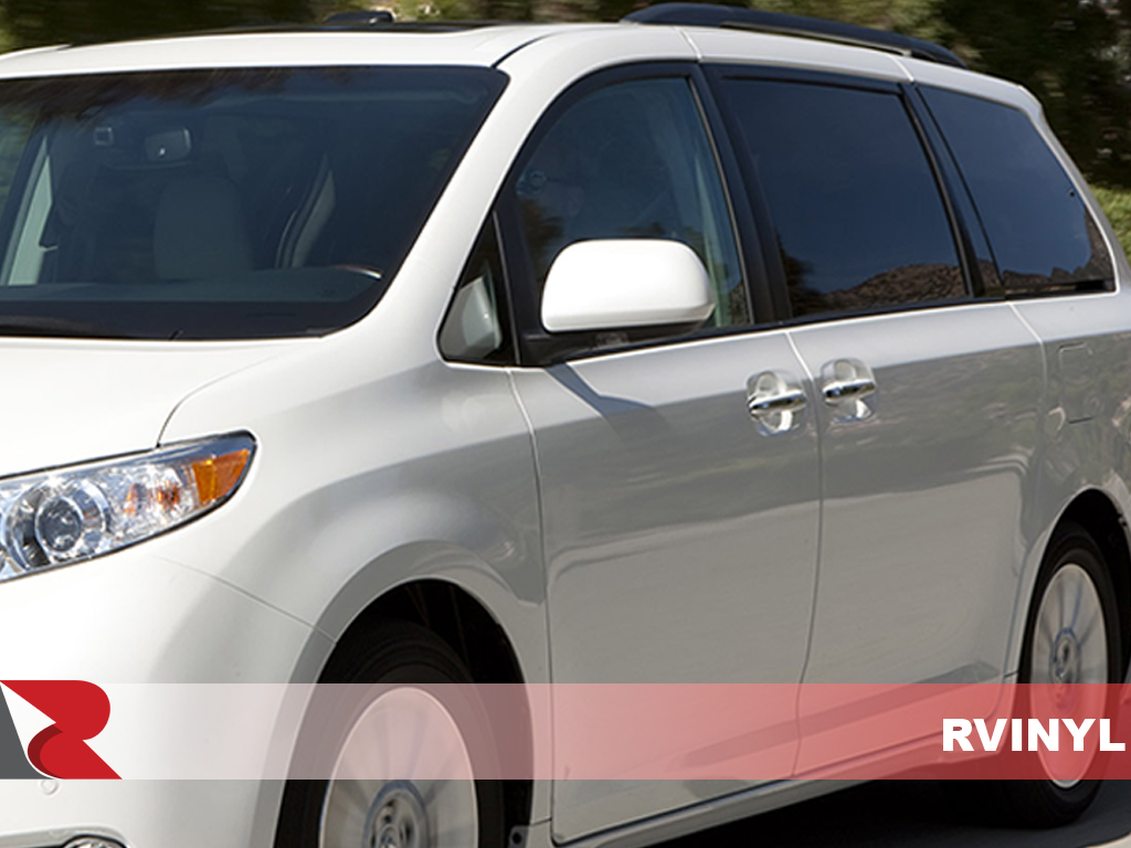 Toyota Sienna 2011-2017 Carbon Fiber Pillar Trims