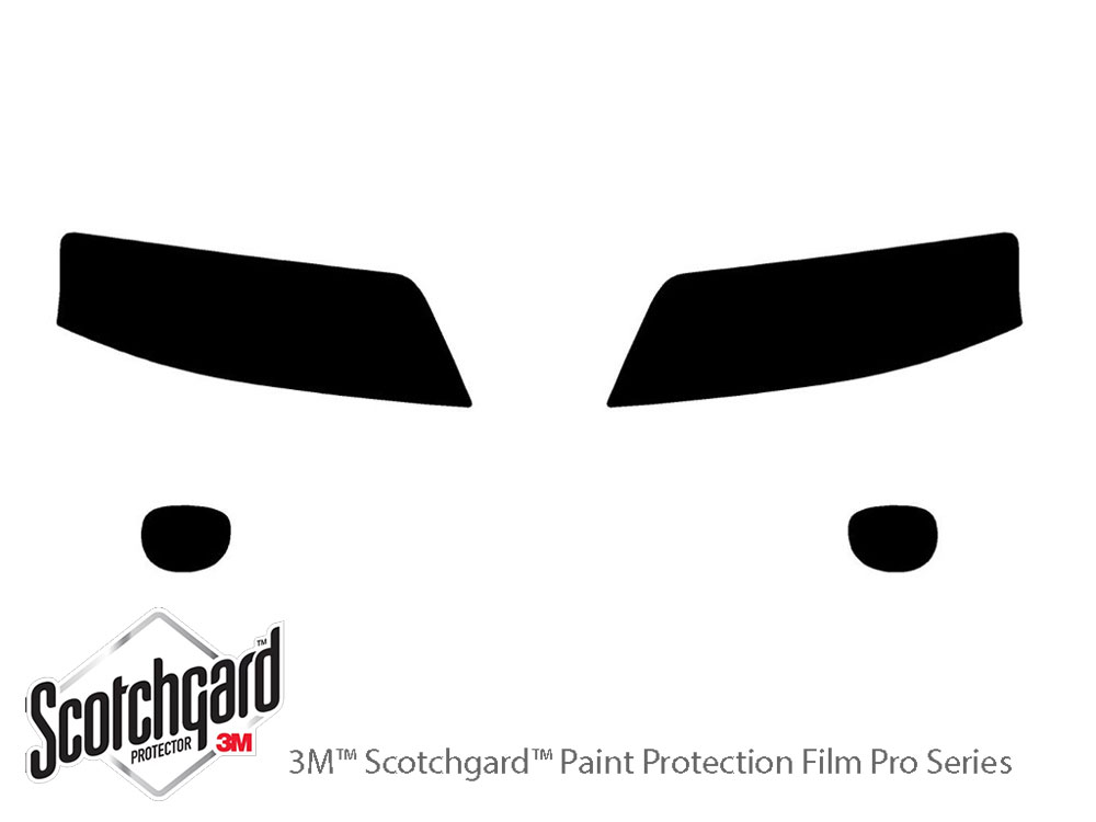 Audi Allroad 2001-2005 3M Pro Shield Headlight Protecive Film