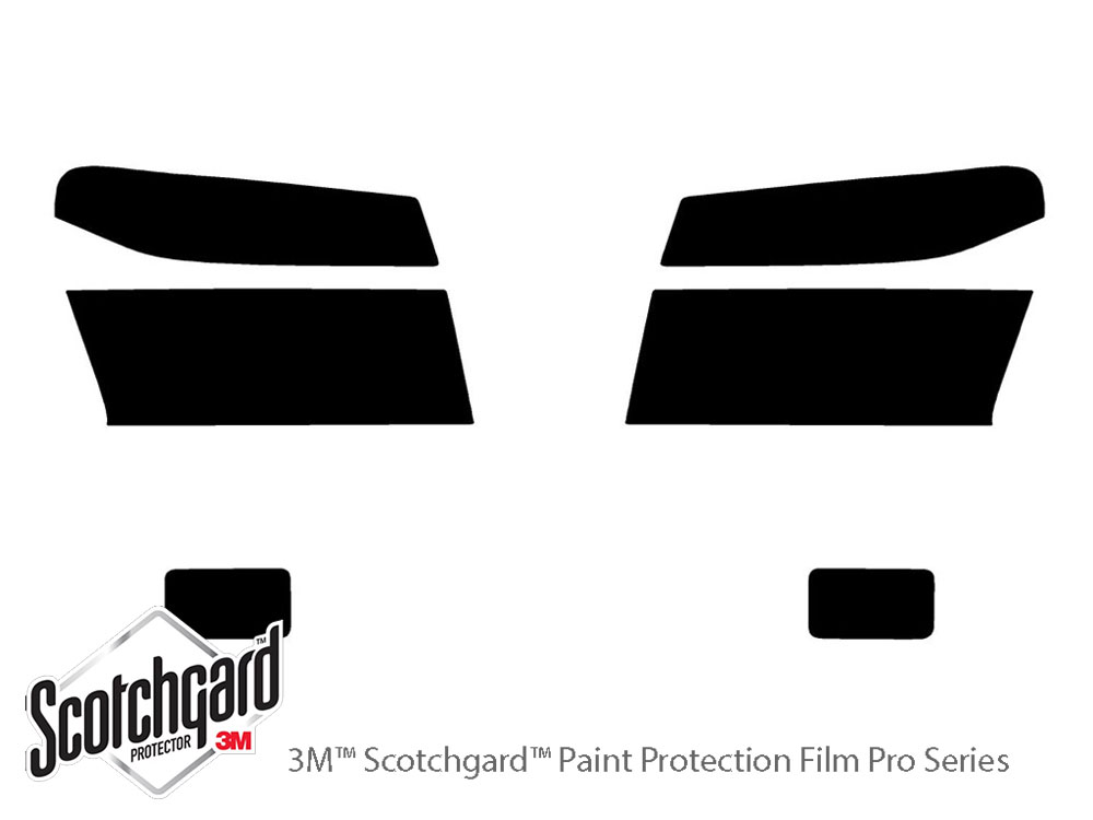 Chevrolet Colorado 2004-2012 3M Pro Shield Headlight Protecive Film