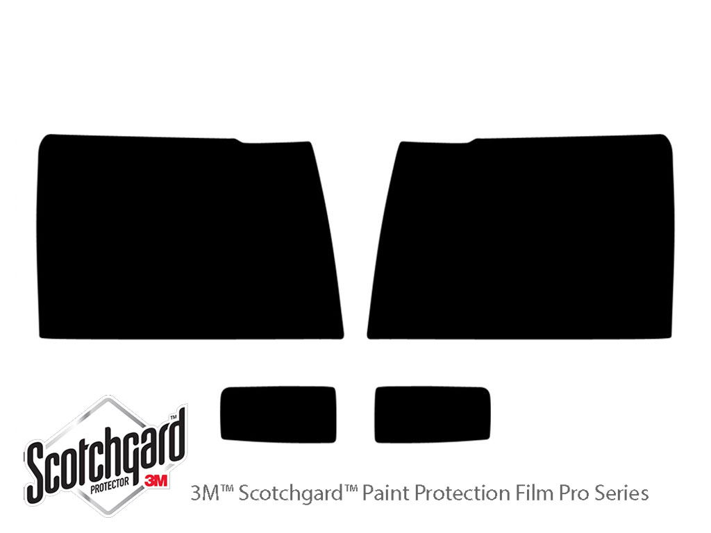 Chevrolet Silverado 2007-2014 3M Pro Shield Headlight Protecive Film