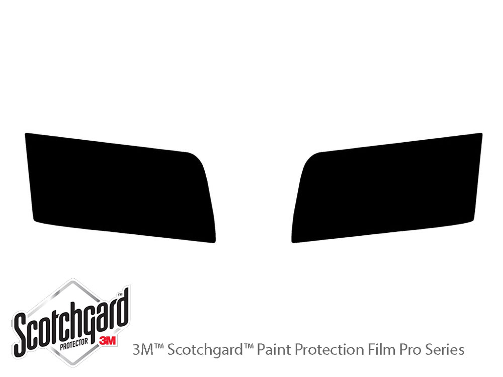 Ford Crown Victoria 2003-2011 3M Pro Shield Headlight Protecive Film