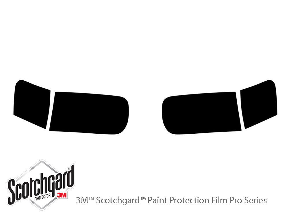 Ford Escape 2001-2004 3M Pro Shield Headlight Protecive Film