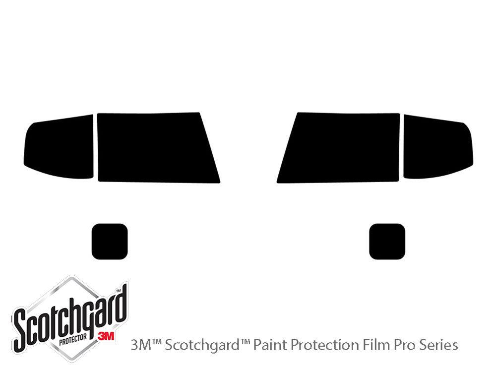 Ford Ranger 2006-2011 3M Pro Shield Headlight Protecive Film