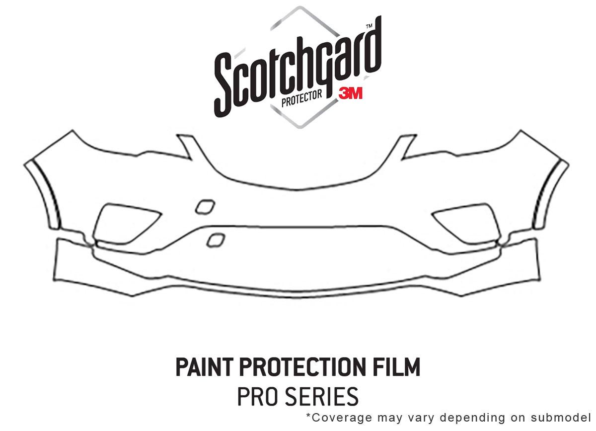 Chevrolet Corvette 2014-2019 PreCut 3M Scotchgard Paint Protection Clear Bra PPF