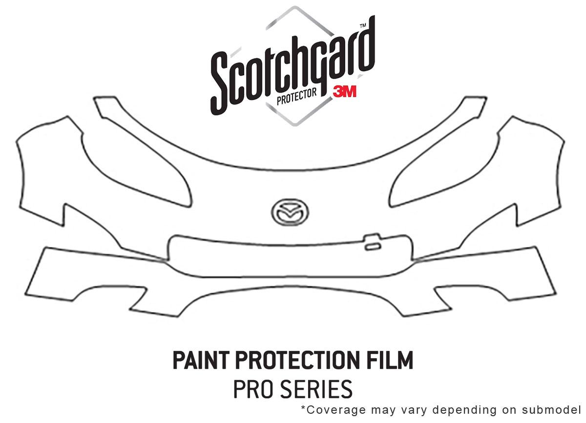 Mazda Miata 2009-2012 PreCut 3M PRO Series Paint Protection Film Clear Bra Kit