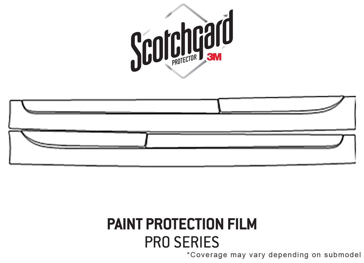 Toyota Camry 2015-2017 PreCut 3M Scotchgard Paint Protection Film Clear Bra PPF