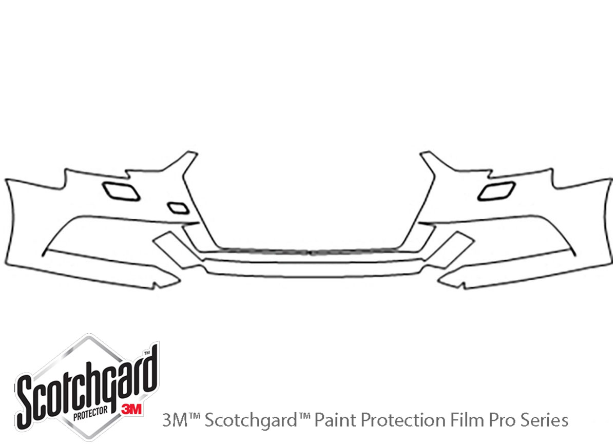 3M Scotchgard Paint Protection Film Pro Series Clear Kit 2017 2018 2019 Audi A3