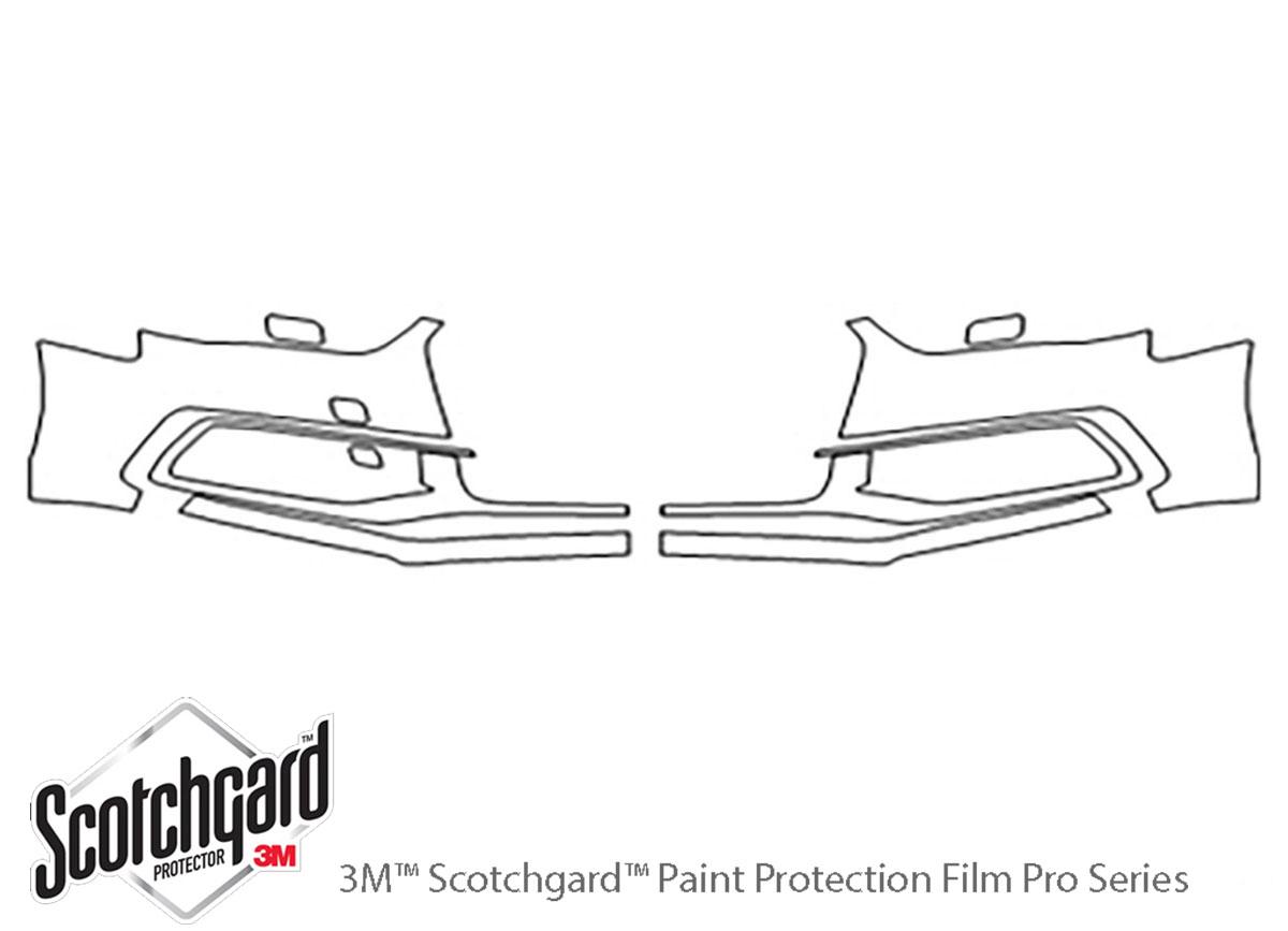3M Scotchgard Paint Protection Film Pro Series Clear Bra 2013 2014 2015 Audi A4