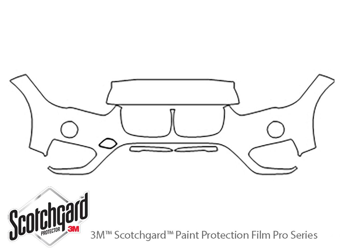 3M Scotchgard Paint Protection Film Clear Bra Pre-Cut Kit 2016 2017 BMW X1