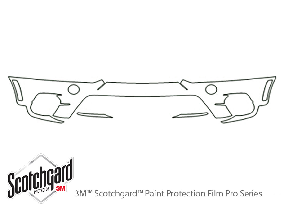 BMW X5 2011-2013 PreCut 3M Scotchgard Paint Protection Film Clear Bra PPF Kit