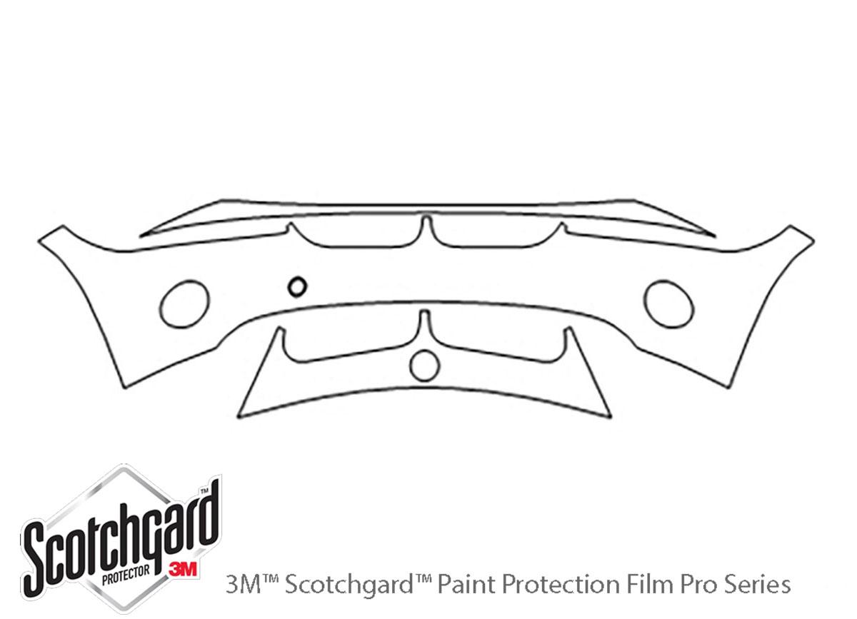 3m Bmw Z4 2003 2005 Bumper Paint Protection Kit Clear Bra Ppf