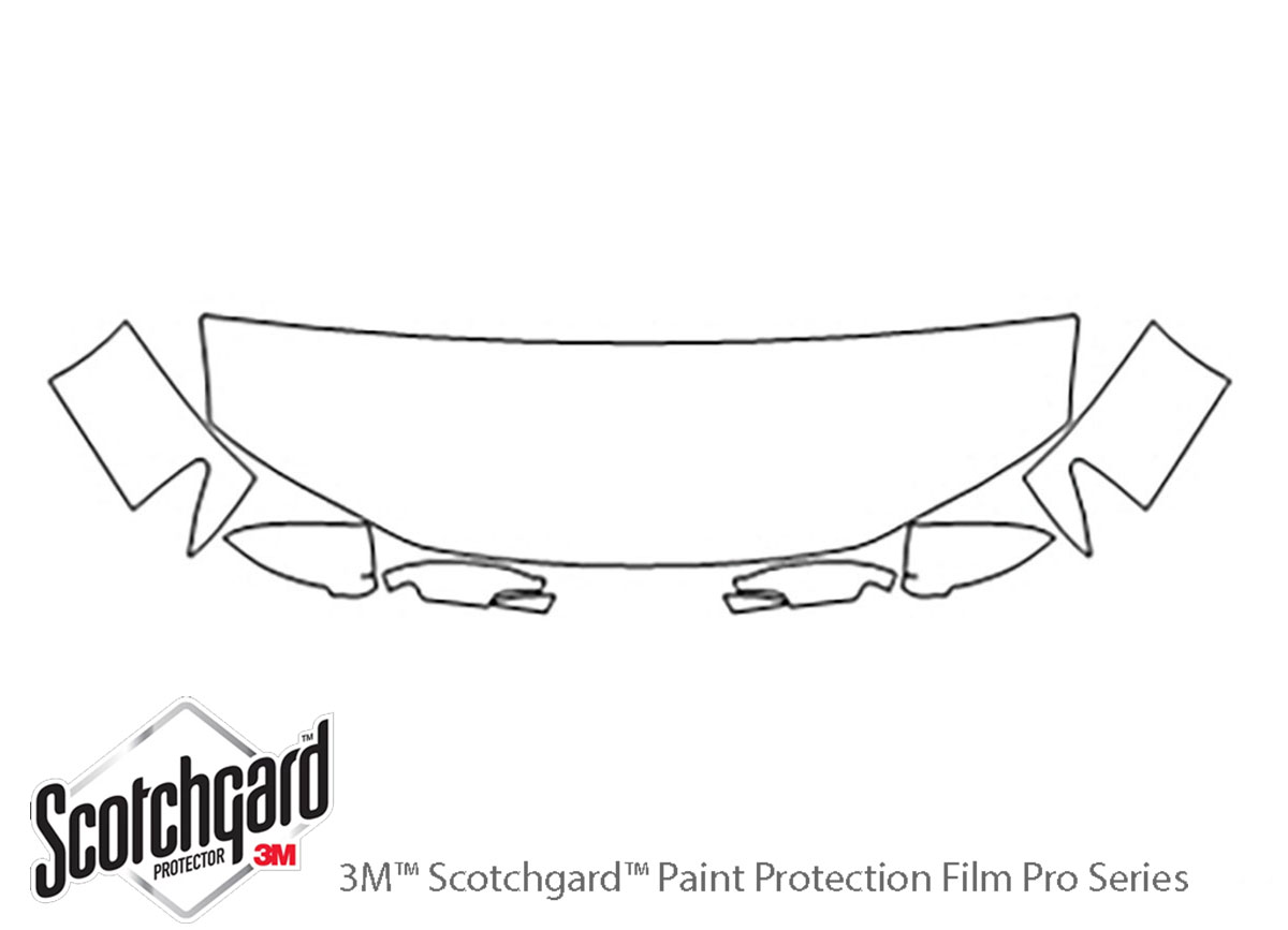 3M Scotchgard Paint Protection Film Clear Fits 2014 2015 2016 2017 Honda Odyssey