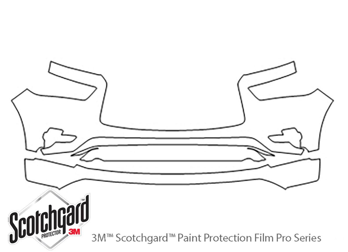 3M Scotchgard PreCut Paint Protection Film Clear Bra for Infiniti QX80 2018-2019