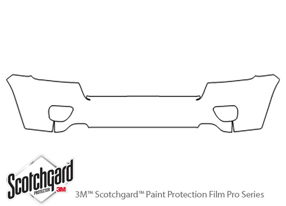 3M Scotchgard Paint Protection Film Pre-Cut 2011 2012 2013 Jeep Grand Cherokee