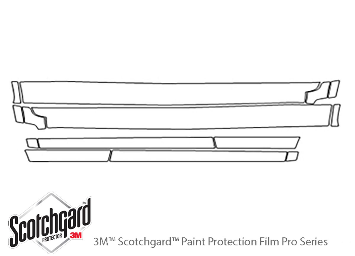 3M Scotchgard Paint Protection Film Pro Series Kit 2014 2015 2016 Jeep Cherokee