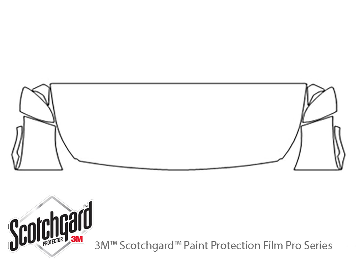 Genuine 3M Scotchgard Paint Protection Film Clear Bra Pre-Cut 2017 2018 Audi Q7