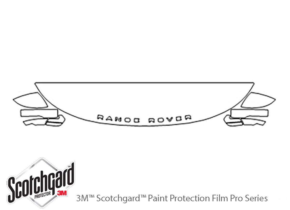 Range Rover 2018-2020 PreCut 3M PRO Series Paint Protection Film Clear Bra PPF